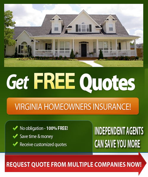Virginia Homeowners Quotes Online